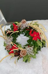 Country style wreath £15